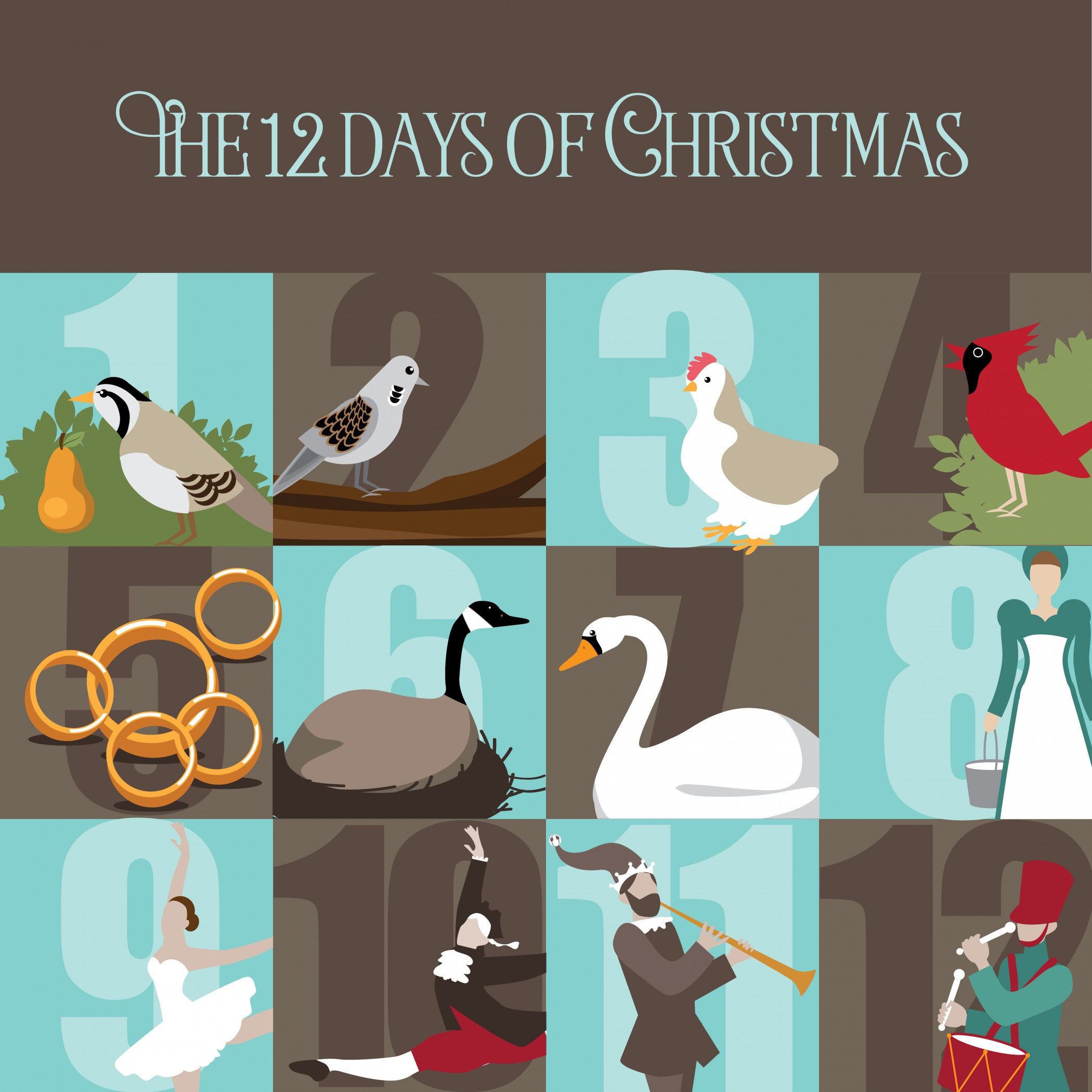 so how much would the 12 days of christmas really cost nationalease blog. Black Bedroom Furniture Sets. Home Design Ideas