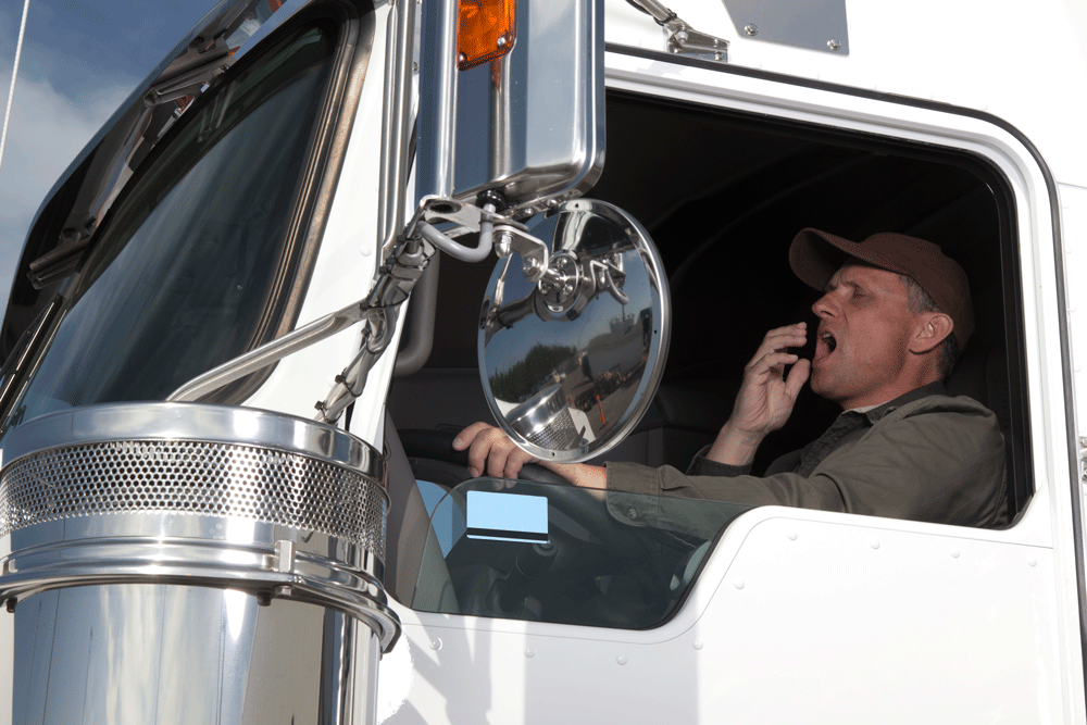 A Bad Night's Sleep Puts Truck Driver Health at Risk